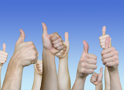 Thumbs Up For All! - secret revealed thumbs up for all!