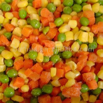 Frozen Vegetables - A mix of some frozen vegetables.