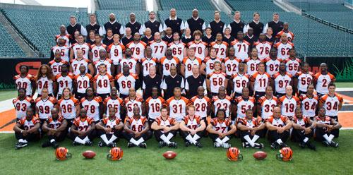 Begals - Cincinatti Bengals 2006 Football Team