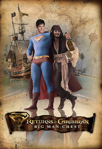 Big Man's Chest - Pirates of The Caribbean, Superman style