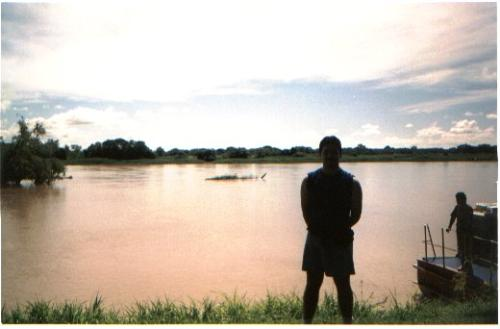 me and the sea - that was taken on parana river before it arrives to the sea