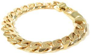 gold man bracelet - bling-bling