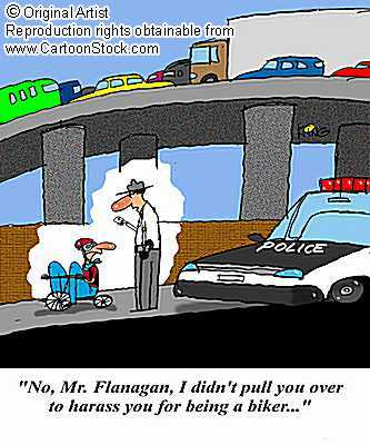 Traffic cops can be ridiculous - This is just an example of that