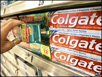 "Images of ""Colgate"" toothpaste sold in discount st - colgate toothpaste"