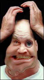 Stress - A man crazy about stress