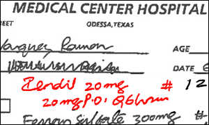 Doctors' Hadwriting. - Why do doctors write like this?