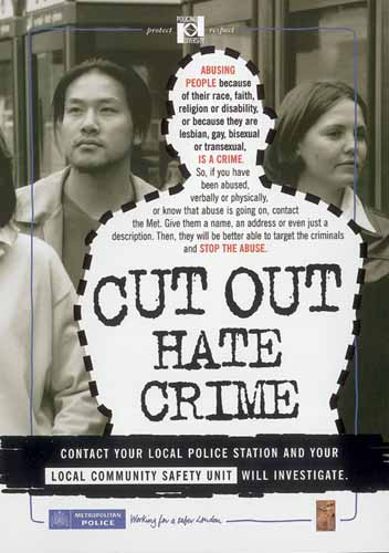Hate Crimes - Definition of a Hate Crime