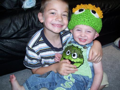 My silly boys - Silly smiles!!!