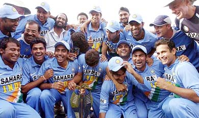 team india... indain cricket team - team india ..... the strongest team on papers...