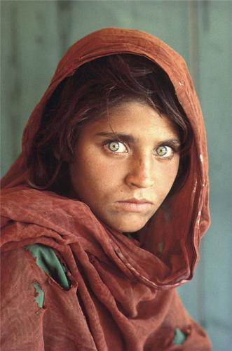 Young Afghan Girl - The Young Afghan Girl by Steve Mc Curry