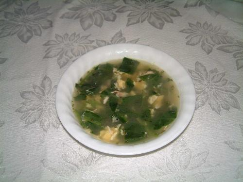 EggSpin Soup - My improved creation on Eggdrop Soup! Much better! I love it!