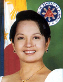 pgma - pic of the president of the Philippines