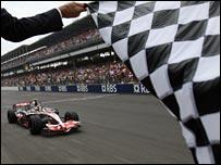 Mclaren's Lewis Hamilton - Mclaren's Lewis Hamilton won his second GP at Indianapolis this year.