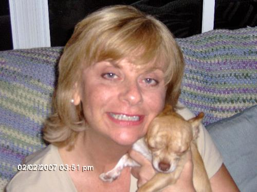 Picture Of Me - I hate having my picture taken. This is me and my dog.