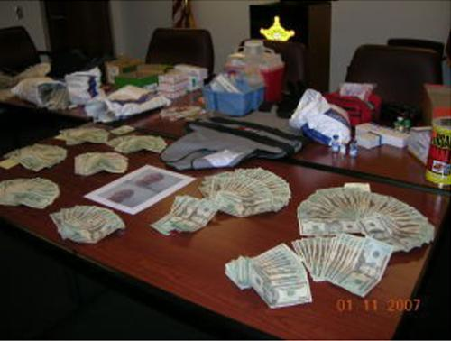 illegality.. - making lots of money with an illegal business..