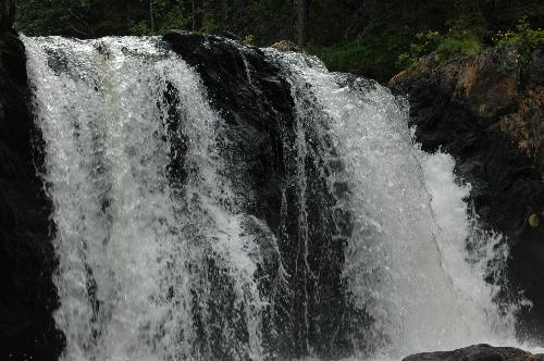 waterfall - One of the waterfalls in the stream