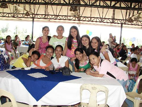 all about my friends - this picture was taken last december 2006, during our christmas party.