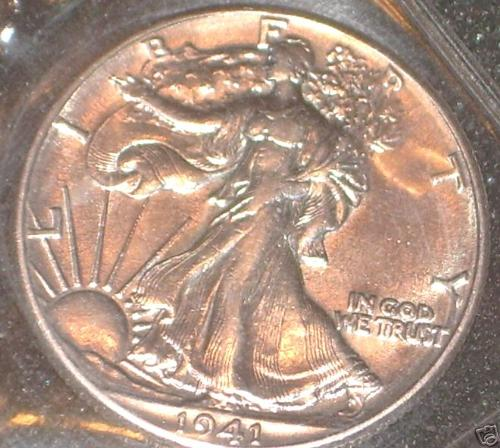 !941 Libert Half - 1941 Liberty Half Dollar
