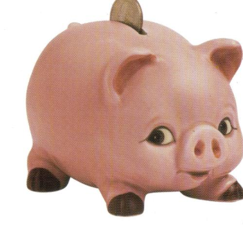 Piggy Bank -  This is a picture of a piggy bank.