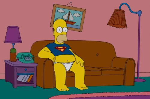 Homer (The Simpsons) - Picture of Homer Simpson from The Simpsons.