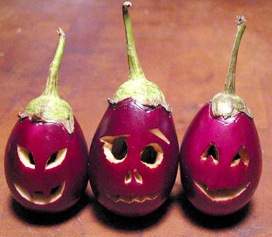 Eggplant o lantern - eggplant o lantern.Three bringals