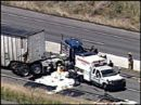 Car accidents - Destruction on our highways, truck and car accident