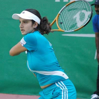 Sania Mirza - Her tennis and her accent!