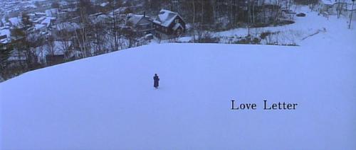 love letter - heroine in the movie