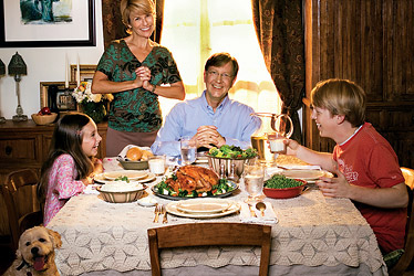 Family Meal - Happy family meal.