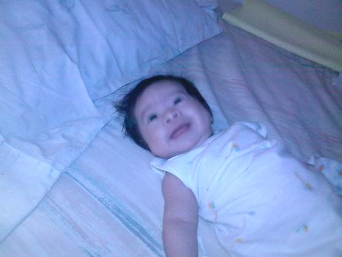 b3 - my baby smiling