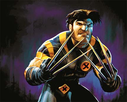 Wolverine. - The most powerful comic book character ever,Wolverine.