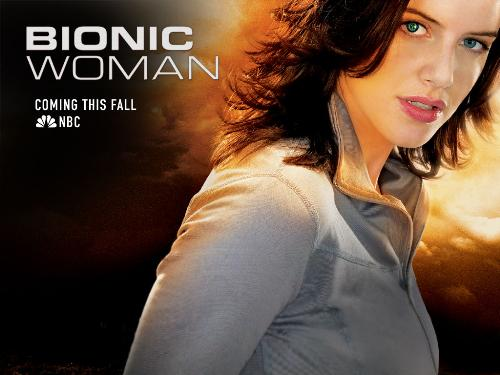 "Bionic Woman - Wallpaper of the remade ""Bionic Woman"" that will be premiering this fall"