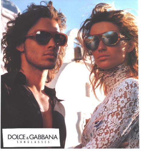 ! - stunning eye-wear from D&G