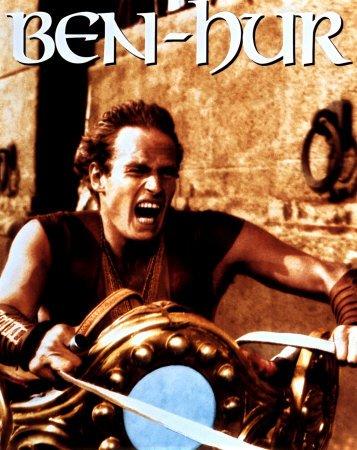 winner of maximum oscar awards. - This is the image Juda Ben Hur, leading character of movie Ben hur.
