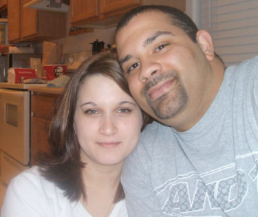 Me and my Hubby Brian! - One of the few pics of my husband and I...I'm usually the one takin the pictures!! lol