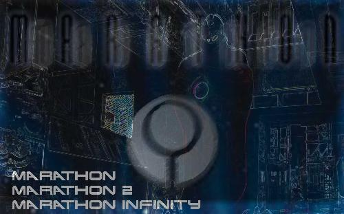Marathon Logo - This is my little Marathon image that i put together for your enjoyment :D God bless Photoshop CS3!