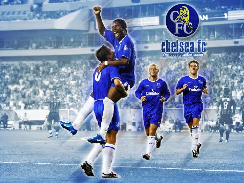 chelsea football club - my favourite football club