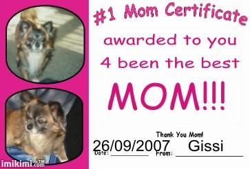 I love Mum - I love my Mum she is my little World
