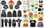 halloween costumes - a lot of halloween costumes