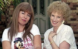 Kath and Kim - Just a pic of those foxy ladies from Fountain Lakes