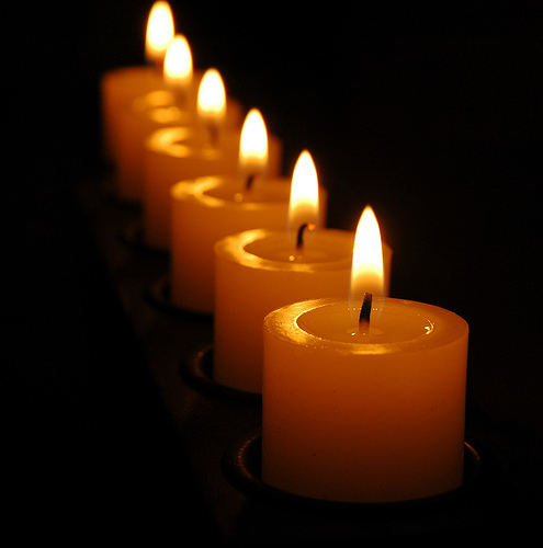 Candles - a bunch of candles