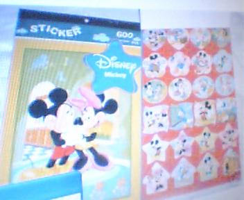 stickers collection. - mickey mouse and disney sticker collection.