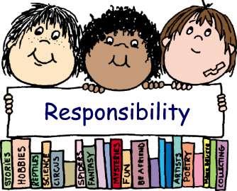 responsibility - great responsibility