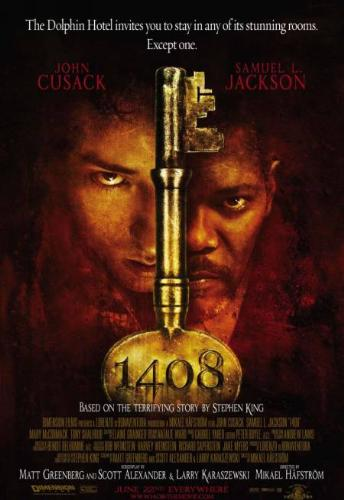 Room 1408 - this is the image poster of the movie room 1408