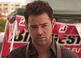 Rory Cochrane, speedle CSI Miami - Actor Rory Cochrane playing Tim Speedle on CSI Miami