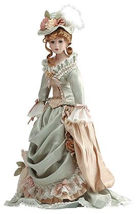 Celeste Porcelain Doll - Anastasia Collection - The porcelain dolls of the Anastasia Collection
