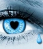 Tears - Crying blue eyes