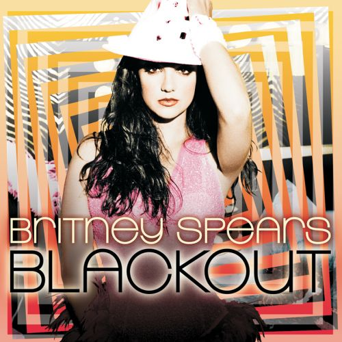 """Buy Britney's new CD now:D - Cover from new britney Spears studio album """"Blackout"""". Available now^_^"""