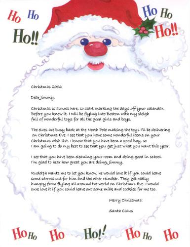 Letter To Santa... - Letter To Santa...
