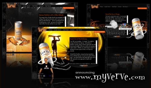 """My new energy drink is called """"Verve"""" - Gotta watch out what time you drink your energy drinks.. They can really send you for a ride."""